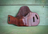 Custom leather holster for small to large frame guns.  Can be customized with a custom stamp.  Makes a great gift.