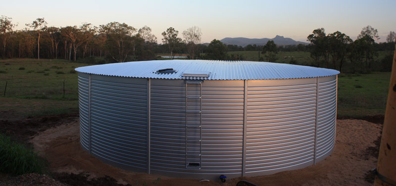Pioneer Metal Water Storage Tanks