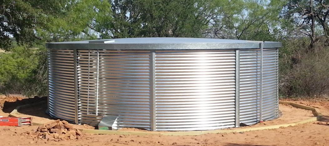 50 000 Gallon Aquamate Water Storage Tank Rainwater