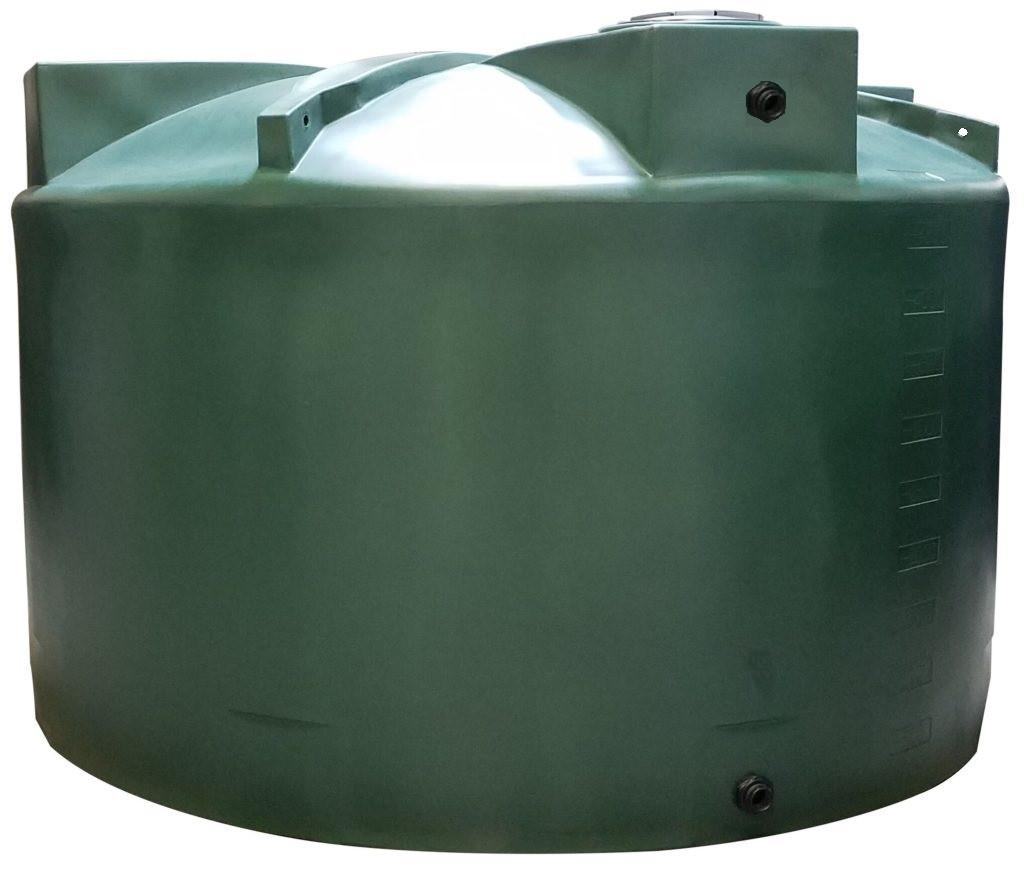 5000 Gallon Water Storage Tank (Short) - dark green & 5000 Gallon Water Storage Tank - Short