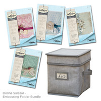 Donna Salazar Embossing Folder Value Bundle
