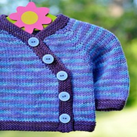 Gift Wrap Sweater by Carina Spencer