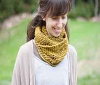 The Crispy Cowl by The Brown Stitch
