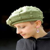 Bobble Beret by Woolly Wormhead