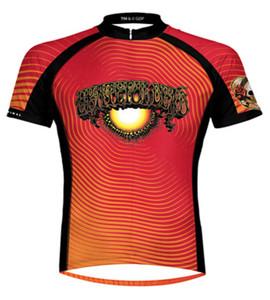 Grateful Dead AOXOMOXOA Cycling Jersey by Primal Wear Men's Short Sleeve with DeFeet Socks