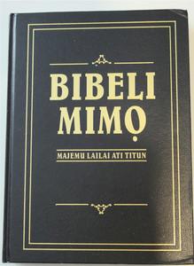 Yoruba Large Print Bible 083P / Bibeli Mimq - Majemu Lailai Ati Titun / Niger...