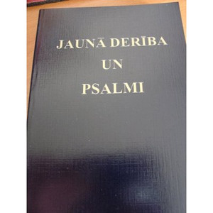Latvian New Testament Jauna Deriba Un Psalmi [Paperback]