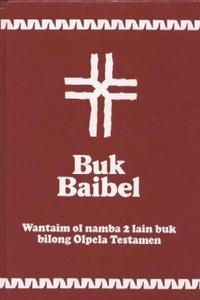 Tok Pisin Bible with Dc - Buk Baibel