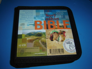 Czech Audio New Testament on 17 Audio CDs / Novy Zakon V dramatizaci prednich...