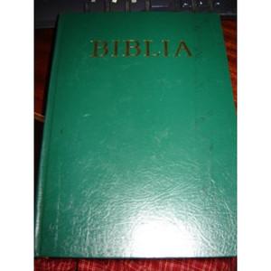 Biblia / Oszovetsegi es Ujszovetsegi Szentiras / Hungarian Family Bible / 198...