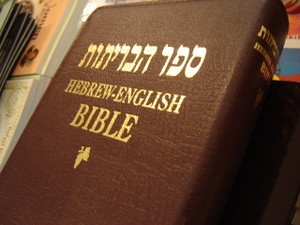 Hebrew - English (NKJV) Diglot Holy Bible / Brown Leather Bound, Golden Edges / 67DI