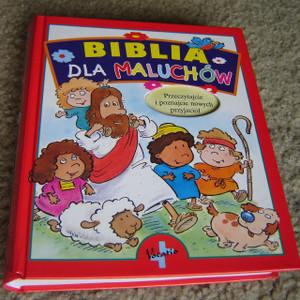 Biblia Dla Maluchow / Polish Children's Bible / Przeczytajcie i pznajcie nowych