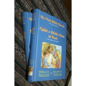 Albanian - English Children's Bible / My First Bible Words, a Kid's Devotional