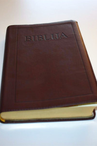 Croatian Leather Bible - Golden Edges / Biblija Sveto Pismo / Prijevod: Ivan ...