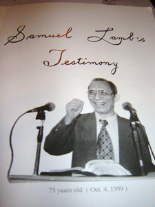 Samuel Lamb's Testimony [Paperback] by Unstated