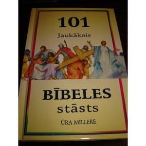 101 Jaukakais - Bibeles Stasts / Latvian Childrens Bible / Latvijas Bibeles Biedriba
