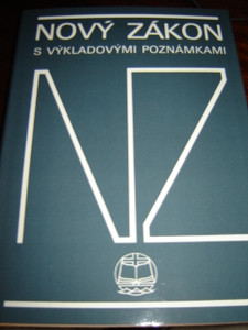 Czech Study New Testament / Novy zakon vykladvymi poznamkami
