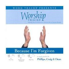 Because I'm Forgiven [Accompanyment CD] [Audio CD]