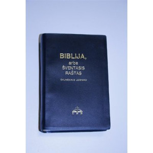 Lithuanian Bible / Biblija, Arba Sventasis Rastas / Ekumeninis Leidimas / Lit...