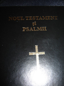 Romanian New Testament and Psalms / Noul Testament si Psalmii