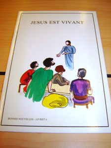 French Children's Bible Story Book about JESUS VOLUME 6 / Francais Bonnes nou...