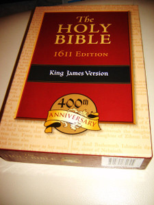 The Holy Bible - 1611 Edition King James Version / 400th Anniversary Black Ge...