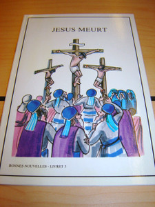 French Children's Bible Story Book about JESUS VOLUME 5 / Francais Bonnes nou...
