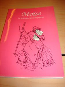 French Children's Bible Story Book about Moses / L'historie de Moise en Franc...