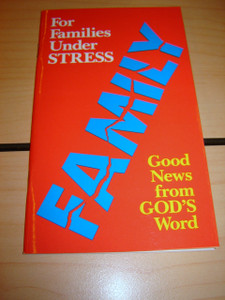 Booklet for Christian Families Under Stress / Family Good News from God's Wor...