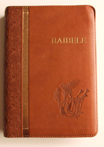 The Bible in Bemba Language / Brown Leather Bound with Golden edges / Baibele...