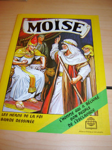 Moise - L'histoire de Moise No.1 / French Moses I 570P / French Children's Bi...