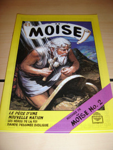 Moise - L'histoire de Moise No.2 / French Moses 570P / French Children's Bible