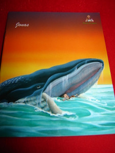 Jonas / French Bible Storybook for Children / France (Words of Wisdom) 32 Pag...