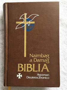Naimbag a Damag Biblia / Agraman Deuterocanonico / Ilokano PV Bible IPV 53PDC / PBS 88.10M-3 / With Imprimatur Signature / Ilocano Bible