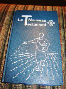 Large Print French New Testament / LE NOUVEAU TESTAMENT en francais courant