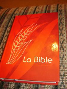 French Red Cover Bible / La Bible - Version Du Semeur Revision 2000 Editions Excelsis