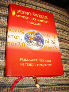 Polish New Testament and Psalms / Modern Polish Translation, Reference Study Edition