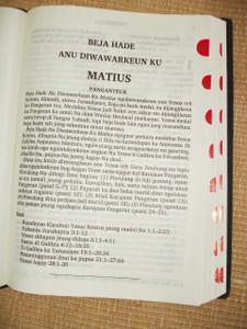 New Testament in Sundanese Austronesian Language / BEJA HADE / DINA MANGSA KIWARI