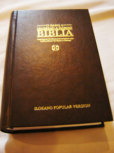 Ilokano Bible / Ti Baro A Naimbag A Damag Biblia / Catholic New Ilokano Popular Version Bible