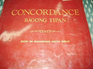 Tagalog Bible Concordance of the New Testament / Bagong Tipan