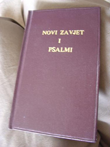 Croatian New Testament and Psalms (Croatian Edition)