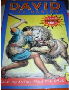 David The Daring - The Story of David part 1 - English Edition / Bible Societ...