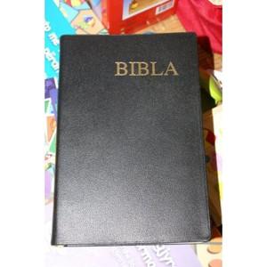 Albanian Genuine Leather Bible / Bibla Diodati i Ri 1991-94 [Leather Bound]