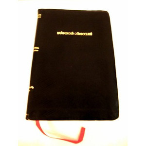Malayalam Christian Songbook / Seeyon Geethavaly / Black Leather Bound Malayalam Hymnal / Golden Edges / 2415 songs