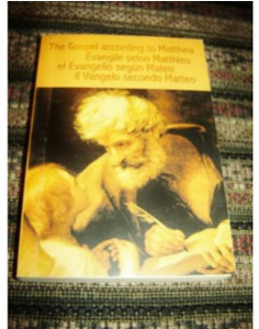 The Gospel of Matthew in Four Languages / English French Spanish Italian / Ev...