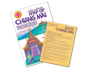 Nancy Chandler's Map of Chiang Mai, 18th Ed. by Nancy Chandler and Nima Chandler