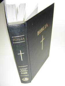 Romanian Midsize Hardcover Bible Words of Christ in Red / Biblia sau Sfanta