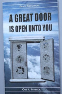 A GREAT DOOR IS OPEN UNTO YOU - Bible Doctrine Booklet [Paperback]