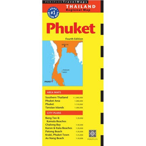 Phuket Travel Map Fourth Edition (Periplus Travel Maps. Thailand Regional Maps)