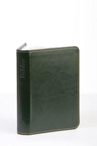 Hungarian Bible / Ujonnan Revidealt Karoli-Biblia 2011 Sotet Zold Ezust metszett